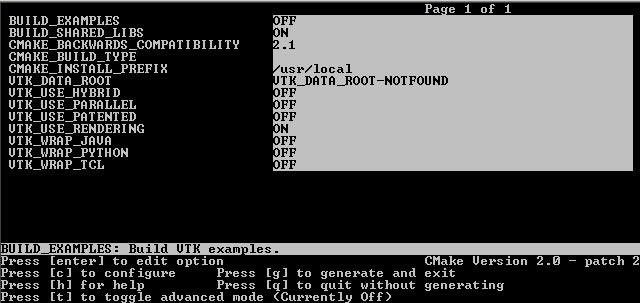 Cmake define compiler options